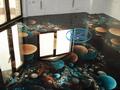 3Д подове - епоксиден 3Д под в спалня - Варна.